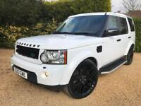 "2013 LAND ROVER DISCOVERY 3.0 SDV6 HSE WHITE , 7 SEATS , 22 "" ALLOYS ,BLACK PACK"