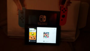 Selling Nintendo wii switch console