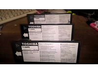 Toshiba Tonner Cartridge T-120PE (unbox but new seals still in place)