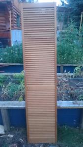 Solid Oak Closet Doors