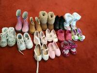 Toddler shoes clothes toys