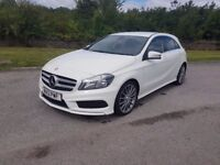 £11,800 Mercedes-Benz A Class 1.5 A180 CDI BlueEFFICIENCY AMG Sport 5dr. Mot, taxed and serviced