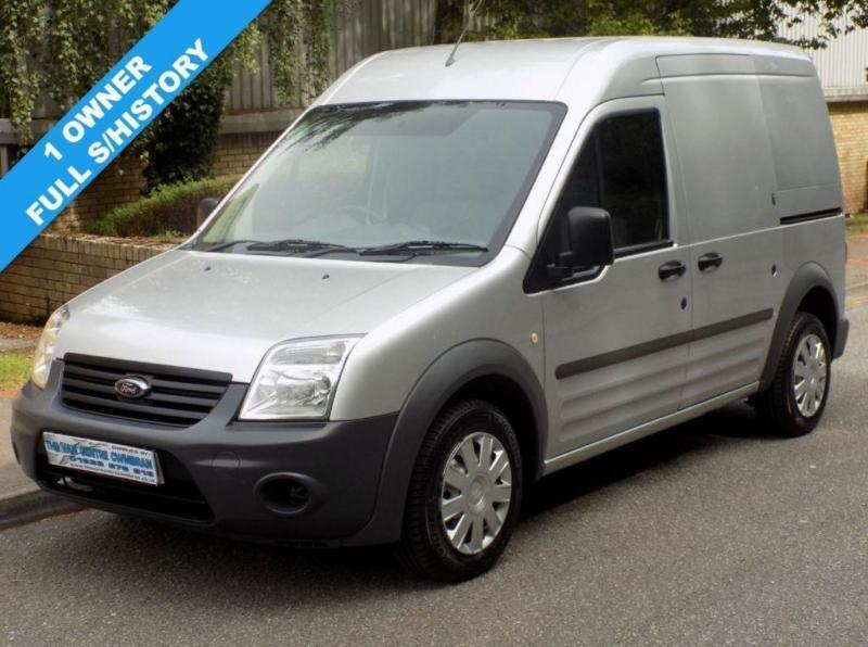 62(12) FORD TRANSIT CONNECT T230 LWB 110 BHP HIGH ROOF EURO 5