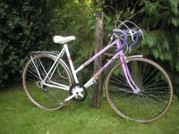 ladies classic vintage racer,falcon vogue,1988,21 in frame,immaculate