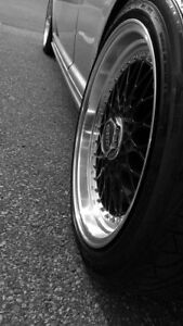 Volkswagen Bbs rs reps with tire , 5x100