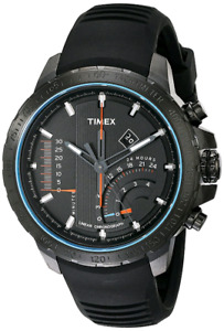 Timex - Men's T2P272DH Intelligent Stainless Steel Watch
