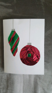 Handcrafted Christmas Greeting Cards