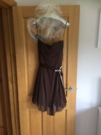 Ladies brown dress
