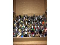 120 brand new tray of nail varnish