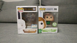 Funko Pop Invisible Frodo & Peppermint Patty - Exclusives