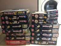 Wasgij puzzles £2 each or take them all for £20
