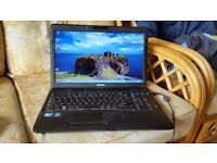 toshiba satellite c660 windows 7 500 g hard drive 6g memory webcam wifi intel I core 3