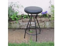 Comfy Retro style , sturdy breakfast bar stool, Operators chair good condition Height - 71.5cms