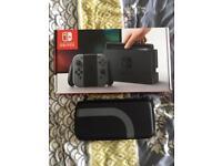 Nintendo switch console black