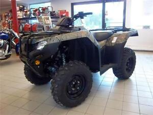 2017 Honda TRX420 Rancher 4x4 - $33 Weekly TAX IN- Pwr Steering