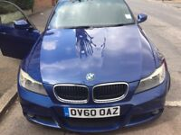 BMW 318 d 2010 m sport blue for sale