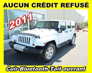 2011 Jeep WRANGLER UNLIMITED **Cuir**Bluetooth**Toit ouvrant