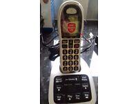 BT 4500 Trio Big Button Cordless Phones