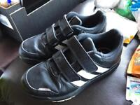 Adidas boys trainers black size 13 1/2 only £10