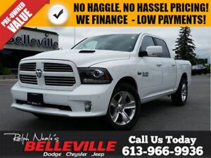 2017 Ram 1500 Crew Sport - Loaded!! - Rambox - Leather - Sunroof