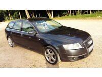 Audi A6 Avant SE 2006, 2.0 TDI diesel, leather, navigation, parking sensors, not Bmw, Ford, Honda
