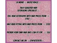 La weave ☆ micro ring hair extensions ☆