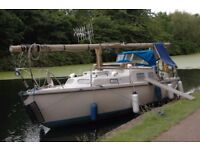 Sailing Boat - Price Negotiable - 30' Kingfisher - Canal/Coastal - London River Boat - Live Aboard