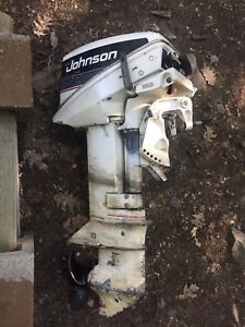 9.9 hp Johnson Outboard