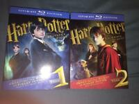 Harry Potter 1 & 2 Ultimate Edition on Blu Ray