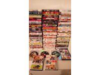 Bundle of dvds includin box sets