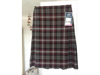 Boswells School Uniform Plaid Skirt BNWT