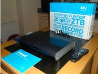 SKY+ HD Box. 2 TB. Many free channels to view with no subscription needed