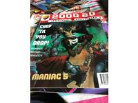 2000AD progs 956, 957 - 2 comic collection