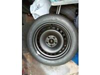 Ford focus/mondeo wheel and tyre