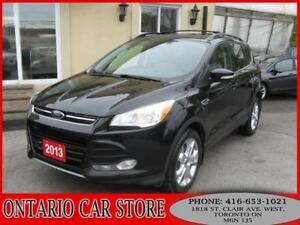 2013 FORD ESCAPE SEL 4WD !!!1 OWNER NO ACCIDENTS!!!
