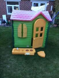 Little Tikes Evergreen Country Cottage Playhouse,New phone, can deliver