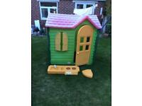Little Tikes Evergreen Country Cottage Playhouse,can deliver