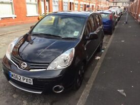 Nissan Note ntec dci+ 1.5 black 0 owner with (FSH) 10 Month MOT