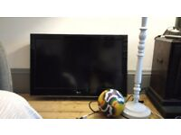 "37"" LG LED TV with bracket"