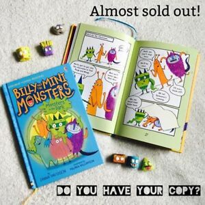 NEW Usborne Billy & the Mini Monsters!
