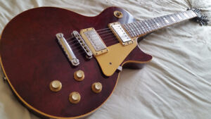 ***1978*** Gibson Les Paul ''Standard'' (Red wine)