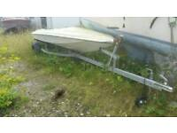 Galvanised boat trailers and Project hulls for sale, VERY CHEAP!!!!!
