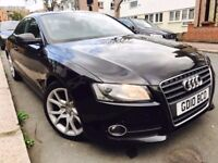 Audi A5 2.0 TFSI 211 bhp 2010 WITH FULL SERVICE HISTORY 2 KEYS HPI CLEAR NOT BMW OR MERCEDES COUPE