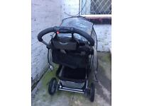 Mothercare baby pram hardly used in very good condition