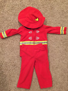 Carters firefighter costume