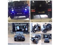 Mercedes G63 In Black Parental Remote Control, Self Drive Ride-On
