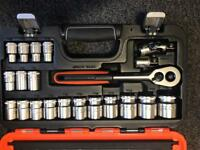 Bahco 24pc socket set 1/2 drive