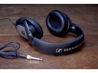 Sennheiser HD 201 Over Ear Headphones | Black