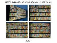 1980'S GARBAGE PAIL KIDS (ORIGINAL SERIES 1 AND 2 JOBLOT)