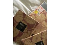 Double bed set comprising of quilt cover and 2 pillow cases. Brand new in original packing